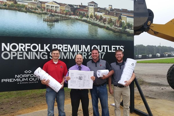 Cleveland Construction Officially Breaks Ground on Norfolk Premium Outlets