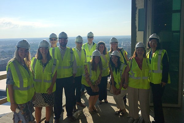 CREW Charlotte Tours ACRI Hotel at EpiCenter