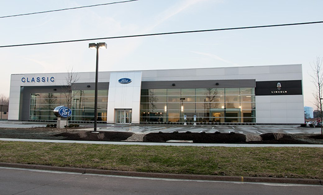 Classic Ford/Lincoln Dealership