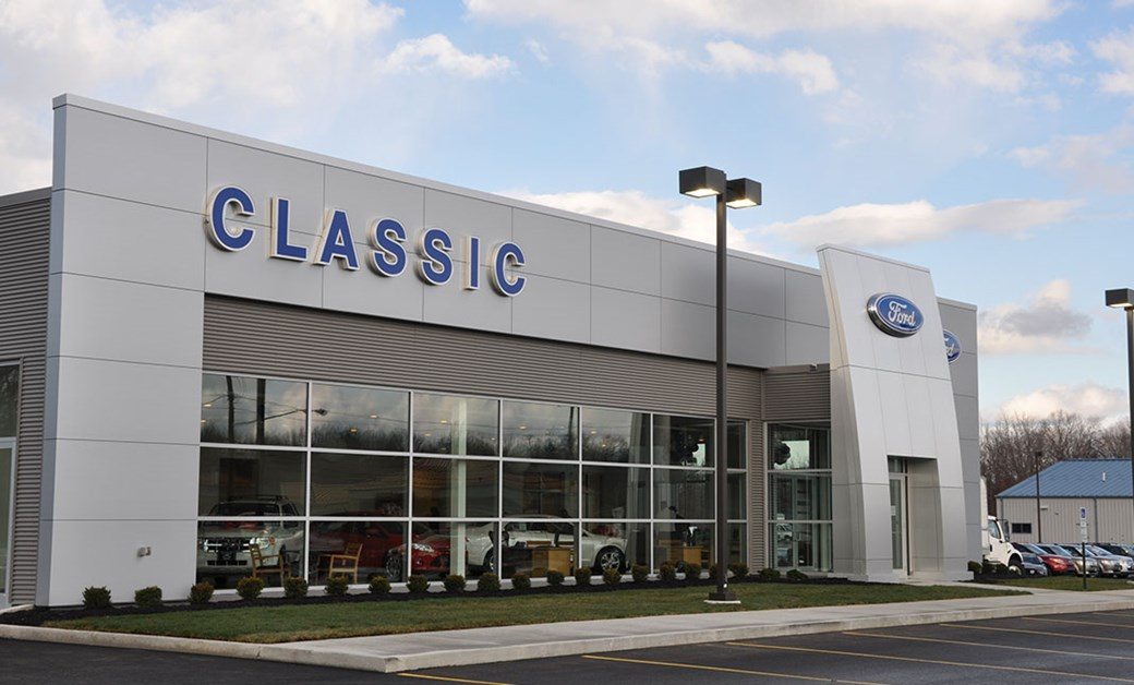 Classic Ford Dealership