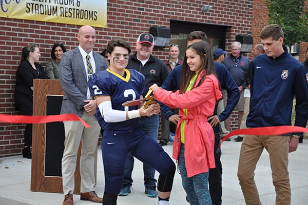 Cleveland Construction & Richard G. Small Foundation Donate New Agility Room to Kirtland High School