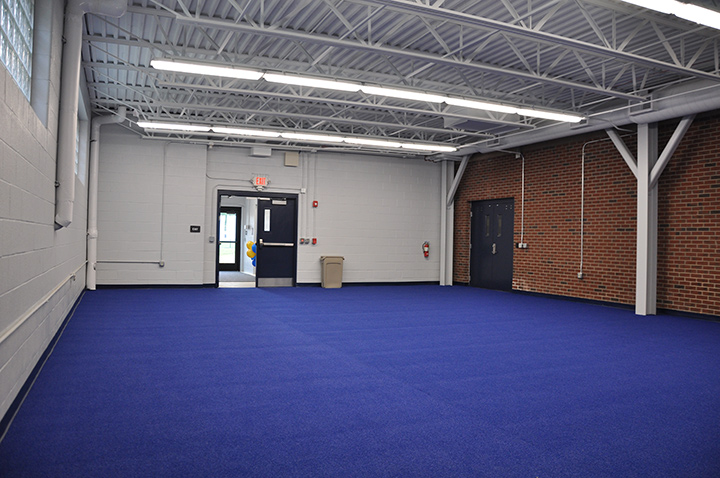 Kirtland High School Agility Room Interior