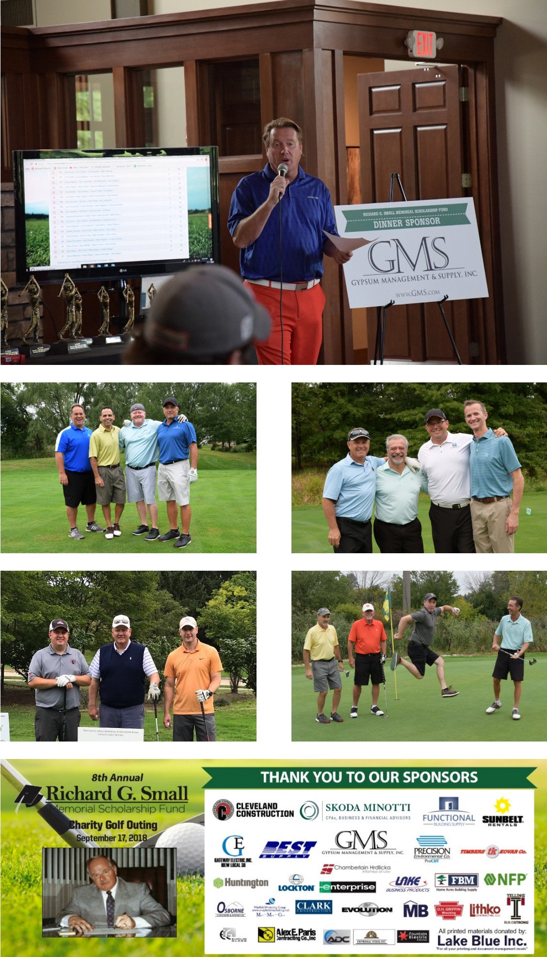 Richard G. Small Foundation Golf Outing Photos