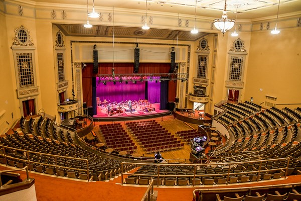 Curtain Rises on Renovated and Restored Masonic Cleveland Auditorium