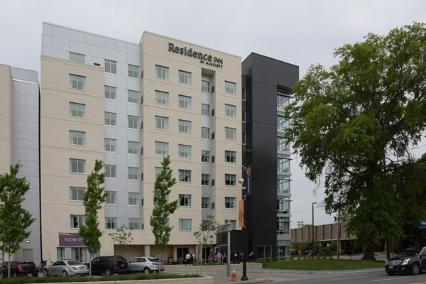 Residence Inn Construction Completed in Cleveland's University Circle District