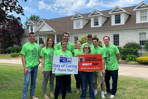 Cleveland Construction Participates in United Way's Day of Caring