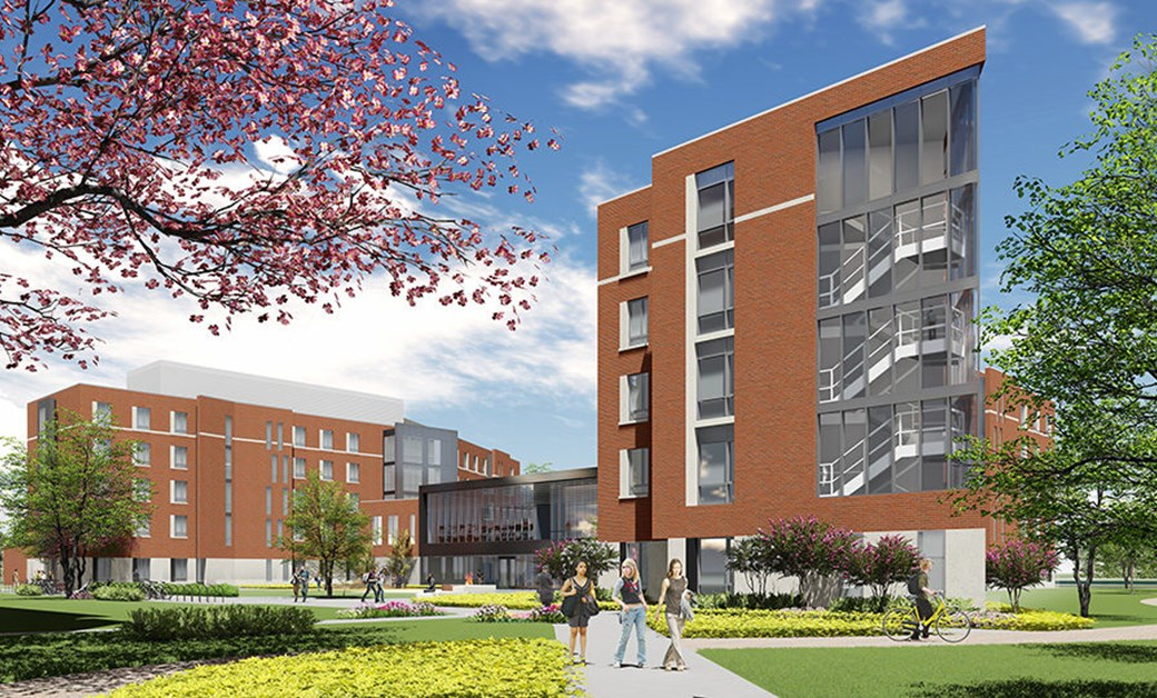 Ball State University New Residence Hall