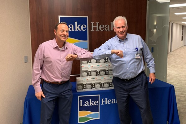 Cleveland Construction Donates N95 Face Masks to Lake Health in Northeast Ohio
